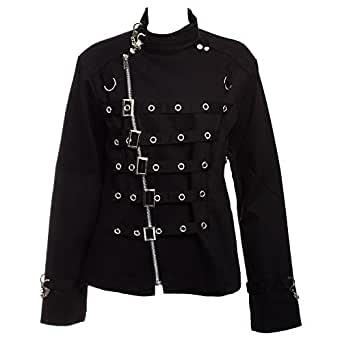 Banned Silver D Ring Jacket (Black) - Small
