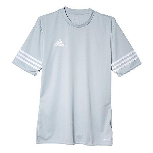 adidas Herren Trikot Entrada 14 Jersey, light grey/white, 3XL, F50493 (Logo-t-shirt Gesticktes Adidas)