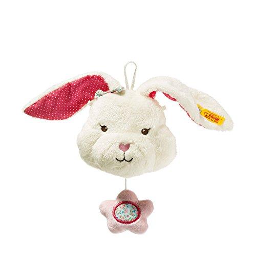 Steiff 241239Plüsch Blossom Babies Hase mit Spieluhr