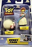 Disney Pixar Toy Story Buddy Pack Bo Peep & Sheep Two Inch High Mini Figures by Mattel