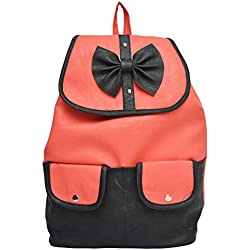 Vintage Stylish Girls School bag College Bag Casual Backpack (In Four Colors)(bag r 333) (rose)