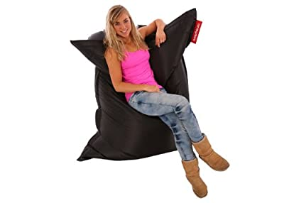 Beachbum Giant Outdoor/ Indoor Bean Bag - Black