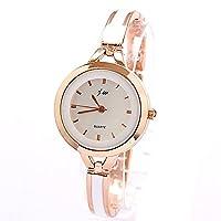 Bocideal 1PC Fashion Gold Elegant Women Girl Bracelet Watch Quartz OL Ladies Wrist Watch