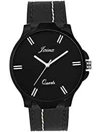 Jainx Royal Black Dial Analog Watch For Men & Boys - JM275