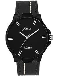 Jainx Royal Black Dial Analog Watch For Men & Boys - JM275