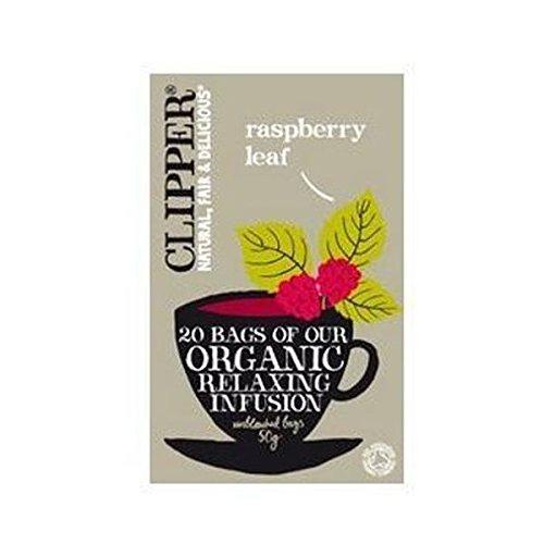 A photograph of Clipper organic raspberry leaf
