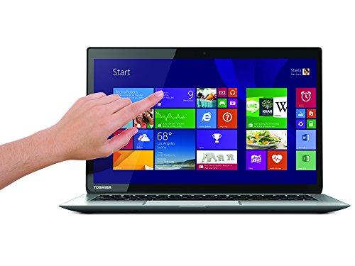 Toshiba KIRA-102 33,8 cm (13,3 Zoll) Laptop (Intel Core i7 4510U, 2GHz, 8GB RAM, 256GB SSD, Intel HD 4400 Grafik, Win 8) silber