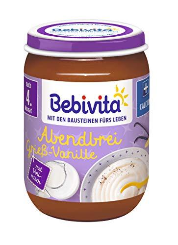 Bebivita Grieß-Vanille, 6er Pack (6 x 190 g)