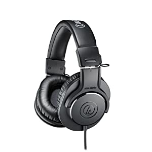 Audio-Technica ATH-M20X Professional Headphones - Black