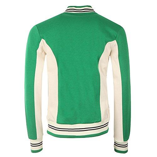 FILA VINTAGE Settanta Baseball Jacket | Kelly Green green