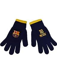Gants Barça - Lionel Messi - Collection officielle FC BARCELONE - Taille enfant garçon