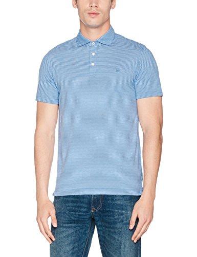 Cortefiel Herren Poloshirt Blau (Marineblau)