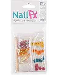 The Edge Flower/Dust/Flatstones Nails Decoration Sets by The Edge
