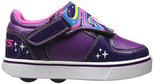 Heelys Twister, Sneaker a Collo Basso Bambina Viola (Grape / Purple / Hot Pink)