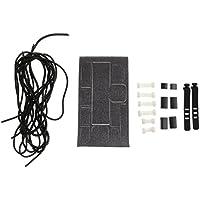 Sharplace Set de Hebilla de Cables de Datos con Auriculares Organizador de Cables Etiqueta Cuerda para