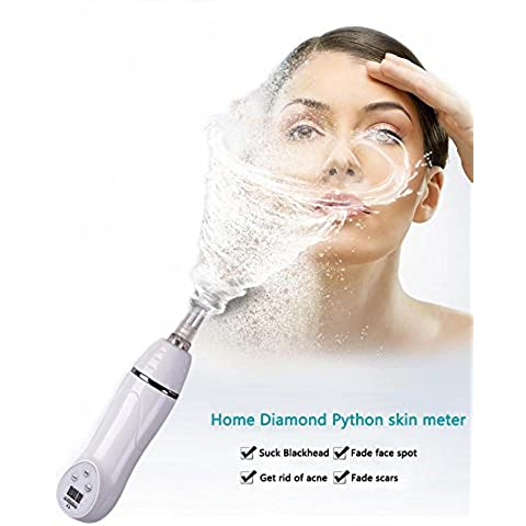 [Nuova versione] Buydalybeauty Portable Digital diamante Microdermabrasion Pen con massaggio Vacuum funzione pelle Peeling bellezza attrezzature