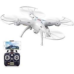 Syma Le X5SW/X5SW est la Version améliorée du Drone X5C Explorers RTF à4 cannaux à 2,4GHz et 6Axes 3D.
