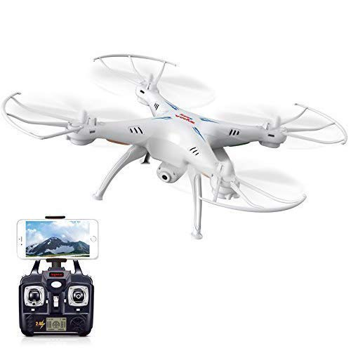 Syma X5SW / X5SW-1 updated version of X5C Explorers RTF Drone RC Airplane Flight UFO - 2,4 GHz 6 Axes 4 Channels 3D FPV Quadcopter
