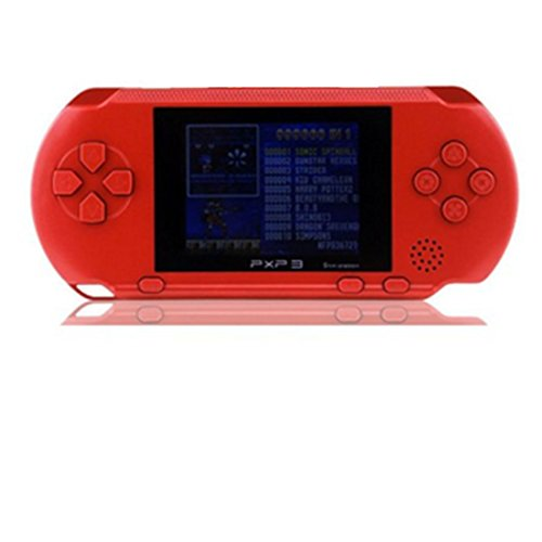 polade-27inch-lcd-rechargeable-game-console-retro-megadrive-16-bit-150-games-red