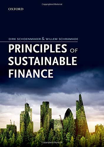 Principles of Sustainable Finance por Dirk Schoenmaker