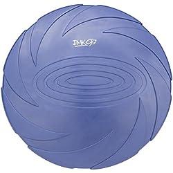 Frisbee para Perros | Juguete para Perros de Diseño Aerodinámico | Material Suave, Natural y Manejable para Morder y Entrenar | Color Azúl Fácilmente Visible | para Perro Pequeño/Mediano/Grande