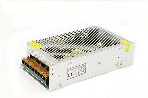 Universal fuente de alimentación conmutada Transformador regulado cortocircuitos y sobrecarga AC100-260V 24V 10a NP-45A), 10A