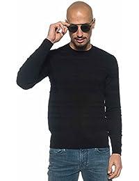 Armani Jeans Men's Black Jumper