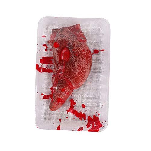lustiges Spielzeug, ALIKEEY Halloween gefälschte Herz Gehirn Orgel Spuk Haus Blut Horror Requisiten Trick (Für Musik Halloween Orgel)