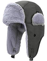 332PageAnn Chapka Warm Sports, Unisex Winter Beanie, Ear Flap Hat Adulto con máscara Desmontable Anti-Wind a Prueba de Polvo al Aire Libre, Warm, Windproof, Transpirable