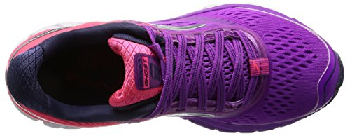 Brooks Damen Ghost 9 W Laufschuhe Pink (Purplecactusflower/divapink/patriotblue)