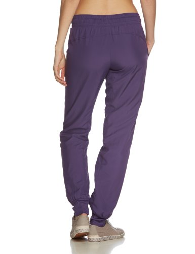 PUMA Damen Jogginghose Woven Pants Closed Loganberry