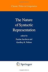 The Nature of Syntactic Representation (Studies in Linguistics and Philosophy)