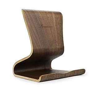 broadcare holz tablet st nder universal ipad elektronik. Black Bedroom Furniture Sets. Home Design Ideas