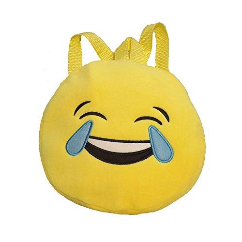 Imagen de esailq bolsos  de emoticon emoji lindo mini para adolescentes mujer niñas estudiantes e