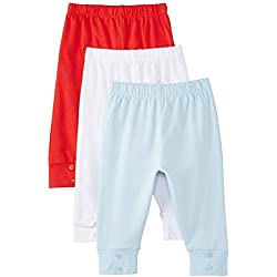 Day 2 Day Baby Boys' Joggers (263962156_Multi colored_03M)(Pack of 3)