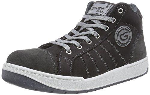 Gevavi GS68 Tiger S3 WERKS. HG, Chaussures de Sécurité Mixte Adulte - Noir - Schwarz (Schwarz(Zwart) 00), 41 EU