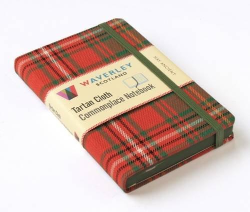 Hay Ancient: Waverley Genuine Tartan Cloth Commonplace Notebook: 32 (Waverley Genuine Scottish Tartan Notebook)