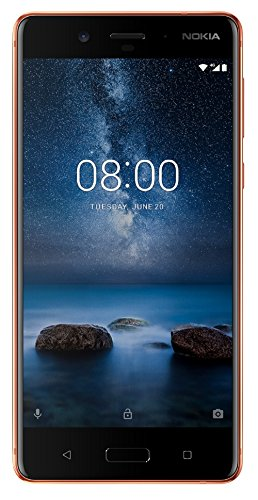 Nokia 8 (Polished Copper, 64GB)