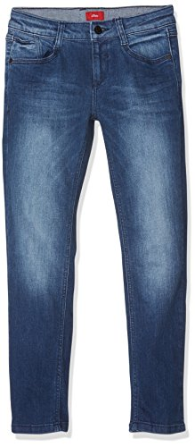 s.Oliver Jungen Jeans 61.708.71.3047, Blau (Blue Denim Stretch 56Z4), 164
