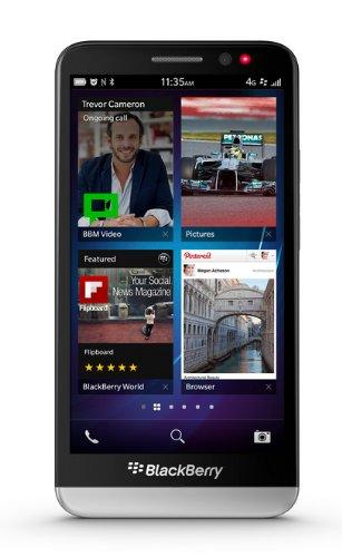 Z30 BlackBerry Z30 Smartphone (12,7 cm (5 Zoll) AMOLED Touchscreen, 8 Megapixel Kamera, 2GB RAM, 16GB Speicher) schwarz [T-Mobile-Branding] -