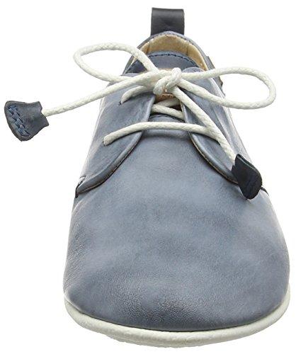 Pikolinos 917-7123C1 Calabria Schuhe Damen Halbschuhe Schnürschuhe Blau