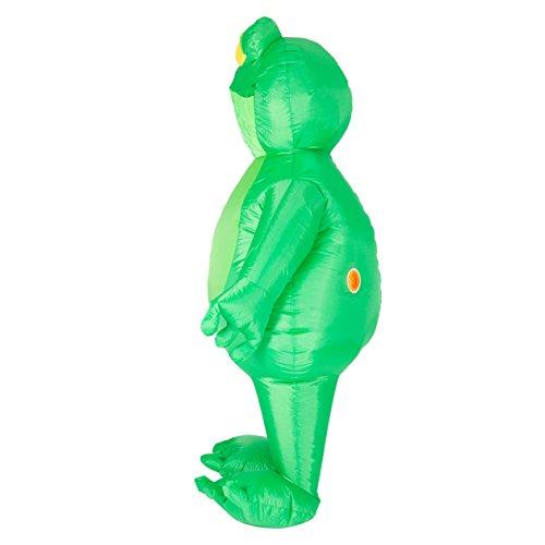 Imagen de disfraz de rana sapo hinchable para adultos alternativa