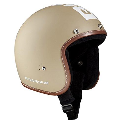 Bandit Helm Jet matt,Jethelm,kleine leichte Bauweise,bequem,Biker,neu, Größe:S(55-56cm), Farbe:20th anniversary desert