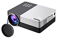 ELEPHAS Full Color Portable Mini LED Projector HDMI interface for Outdoor