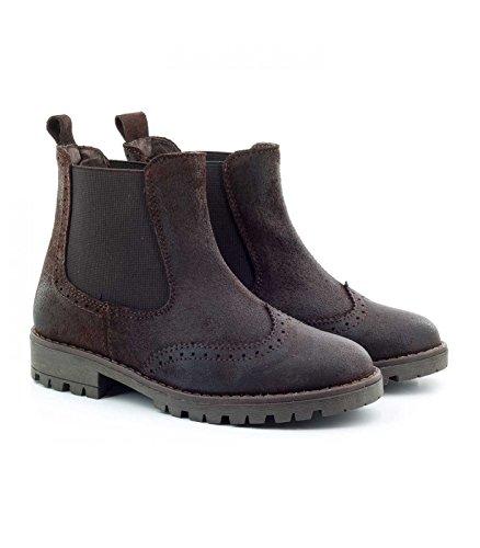 6437f56a37917 Boni Rainfall - Boots Enfant en Daim graissé