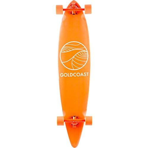 GoldCoast Longboard Classic Pintail, Longboard Classic Pintail, Naranja,...
