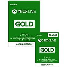 3 Mois Xbox Live Gold + 3 Mois GRATUIT   Xbox Live - Code jeu à télécharger