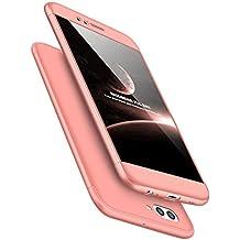 Funda Huawei P8 Lite 2017 360° Protectora 3-en-1 PC Ultra Delgado Choque Absorción Anti-Arañazos Case Carcasa para P8 Lite 2017 5.2 Pulgada Caso Estuche Cover Jeper®