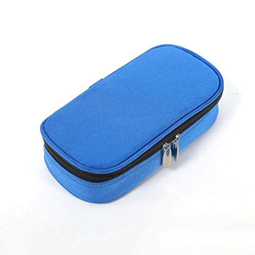 Cooler Cool Box / Scatola Calda Camping Beach Lunch Picnic Isolato Food Box Da Pesca Da Asporto Isolato Blue Blue