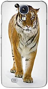 Timpax protective Armor Hard Bumper Back Case Cover. Multicolor printed on 3 Dimensional case with latest & finest graphic design art. Compatible with Samsung I9500 Galaxy S4 Design No : TDZ-25204